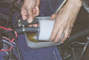 сливной шланг бачка гидроусилителя ГАЗ 31105
