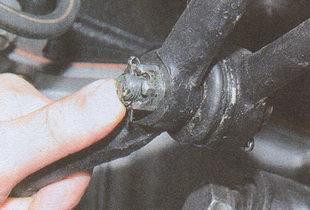 проверка люфта шарового пальца ГАЗ 31105