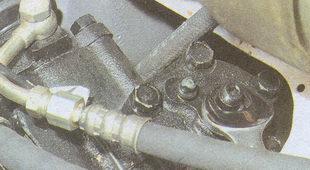 контргайка рулевого механизма автомобиля Волга ГАЗ 31105