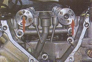установка распредвалов ГАЗ 31105