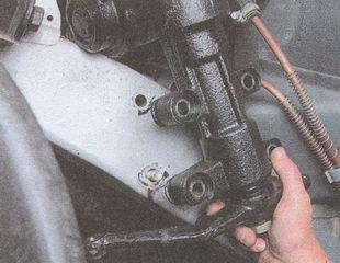 рулевое управление автомобиля ГАЗ 31105
