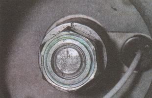 положение рулевого вала и ступицы рулевого колеса ГАЗ 31105