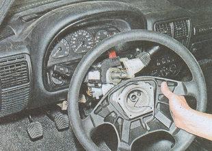 снятие рулевого колеса ГАЗ 31105
