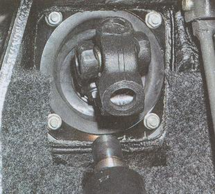 рулевой вал ГАЗ 31105