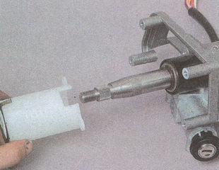 держатель с контактным кольцом рулевой колонки ГАЗ 31105