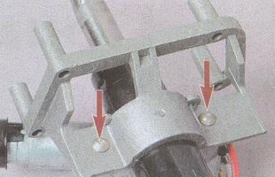 специальные болты крепления выключателя зажигания ГАЗ 31105