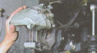 корпус скобы тормозного механизма