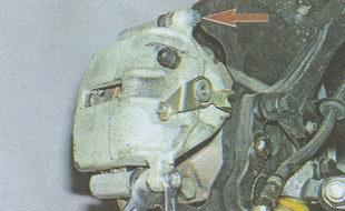 болты крепления корпуса скобы тормозного механизма