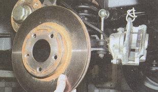 тормозной диск Волга ГАЗ 31105