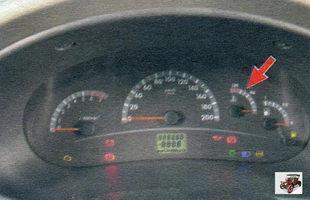 указатель температуры охлаждающей жидкости Лада Калина ВАЗ 1118