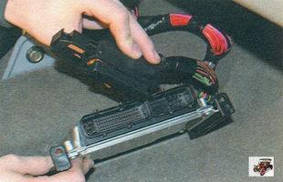 замена ЭБУ (электронного блока управления) Лада Калина ВАЗ 1118