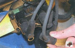 замена катушки зажигания Лада Калина ВАЗ 1118