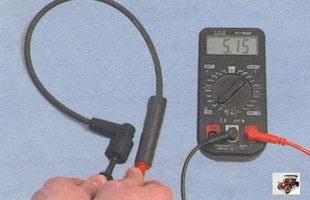 проверка высоковольтных проводов Лада Калина ВАЗ 1118