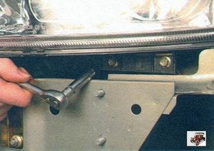 болты нижнего крепления фары Лада Калина ВАЗ 1118
