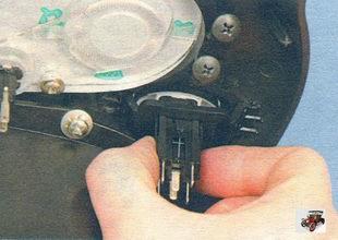 замена переключателя режимов работы электровентилятора отопителя и выключателя обогрева заднего стекла Лада Калина ВАЗ 1118