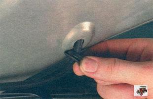 резиновая прокладка шланга омывателя
