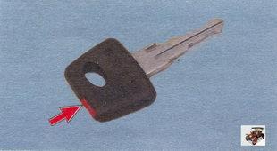 обучающий ключ Лада Калина ВАЗ 1118
