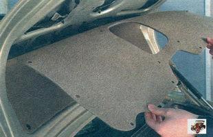 обшивка крышки багажника Лада Калина ВАЗ 1118