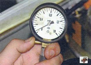 замер компрессии в двигателе Лада Калина ВАЗ 1118