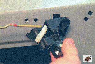 механизм внутренней ручки задней двери Лада Калина ВАЗ 1118