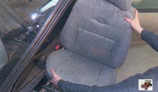 Снятие и установка переднего сиденья Лада Калина ВАЗ 1118