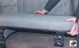 подушка заднего сиденья Лада Калина ВАЗ 1118
