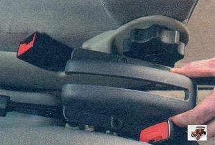 облицовка рычага стояночного тормоза Лада Калина ВАЗ 1118