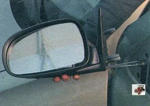 наружное боковое зеркало заднего вида Лада Калина ВАЗ 1118