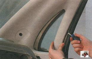облицовка задней стоки кузова Лада Калина ВАЗ 1118
