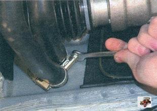 хомуты шлангов радиатора отопителя Лада Калина ВАЗ 1118