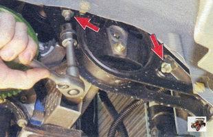 гайки крепления подушки к лонжерону кузова Лада Калина ВАЗ 1118