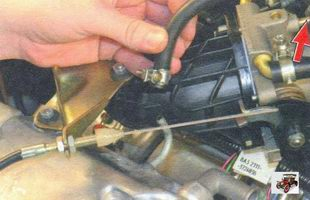 шланг малой ветви системы вентиляции картера Лада Калина ВАЗ 1118