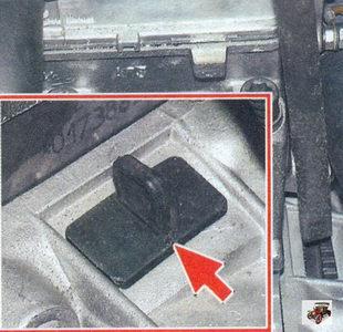 заглушка в картере сцепления Лада Калина ВАЗ 1118