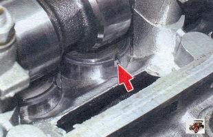 паз в толкателе клапана Лада Калина ВАЗ 1118