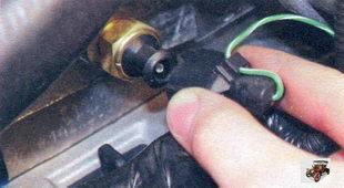 провод датчика указателя температуры охлаждающей жидкости Лада Калина ВАЗ 1118