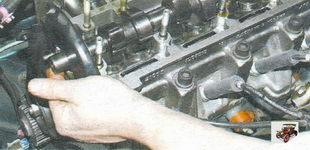 снятие распредвала с головки блока цилиндров Лада Калина ВАЗ 1118