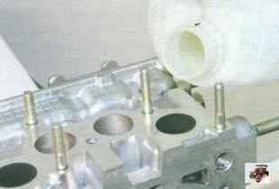 проверка герметичности клапанов Лада Калина ВАЗ 1118