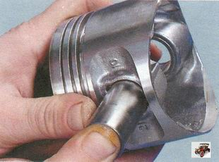 поршень, поршневой палец Лада Калина ВАЗ 1118