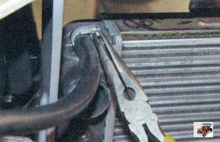 хомут крепления шланга к расширительному бачку Лада Калина ВАЗ 1118