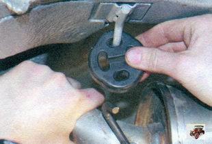 передняя подушка подвески глушителя Лада Калина ВАЗ 1118