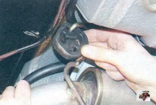 задняя подушка подвески дополнительного глушителя Лада Калина ВАЗ 1118