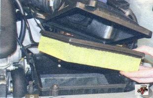 фильтрующий элемент воздушного фильтра Лада Калина ВАЗ 1118