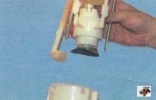 корпус модуля топливного насоса Лада Калина ВАЗ 1118