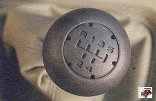 рычаг переключения коробки передач Лада Калина ВАЗ 1118