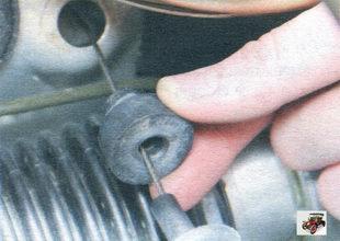 демпфер оболочки троса привода дроссельной заслонки Лада Калина ВАЗ 1118
