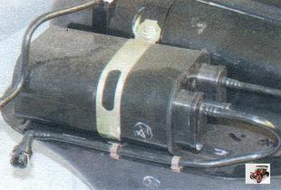 адсорбер системы улавливания паров топлива Лада Калина ВАЗ 1118