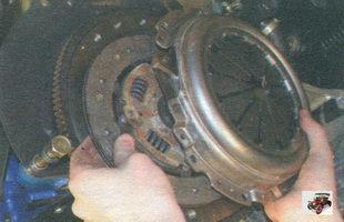 нажимной и ведомый диски сцепления Лада Калина ВАЗ 1118