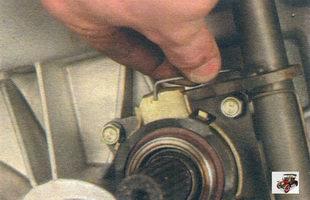 муфта выжимного подшипника сцепления Лада Калина ВАЗ 1118