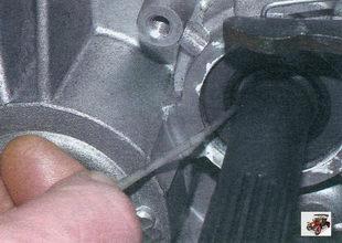сальник первичного вала коробки передач Лада Калина ВАЗ 1118