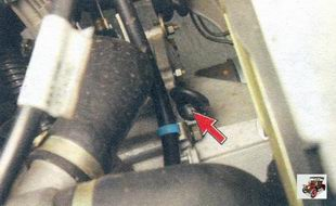 указатель (щуп) уровня масла в коробке передач Лада Калина ВАЗ 1118